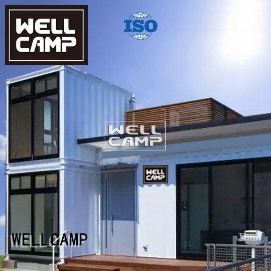 WELLCAMP Brand fixed bedrooms panel custom container homes