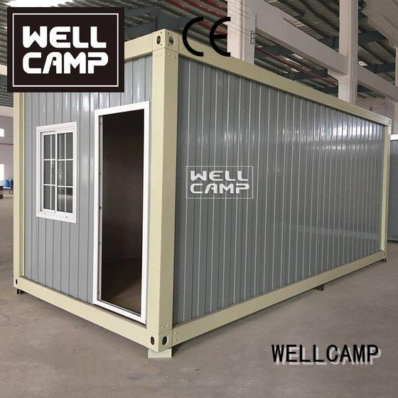 prefabricated container house two living panel eco