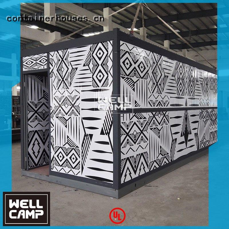 foldable container house folding modern Warranty WELLCAMP