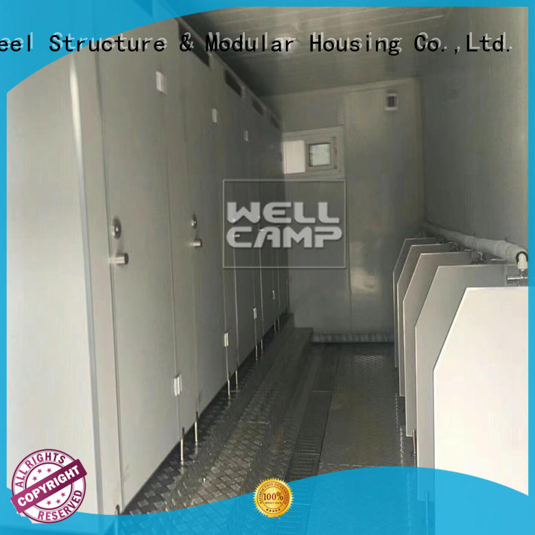 flat pack 20 ft container restaurant style move WELLCAMP Brand company