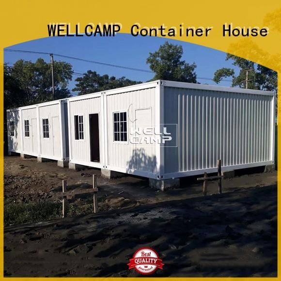 fireproof office WELLCAMP Brand prefabricated container house