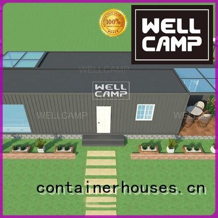 custom container homes resort holiday prefabricated WELLCAMP Brand company