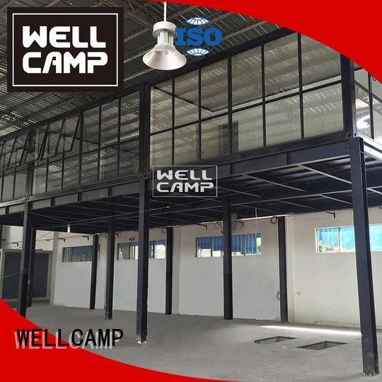 prefabricated container house two container house for sale WELLCAMP