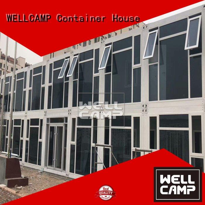 Hot flat pack 20 ft container style flat pack containers tiny WELLCAMP