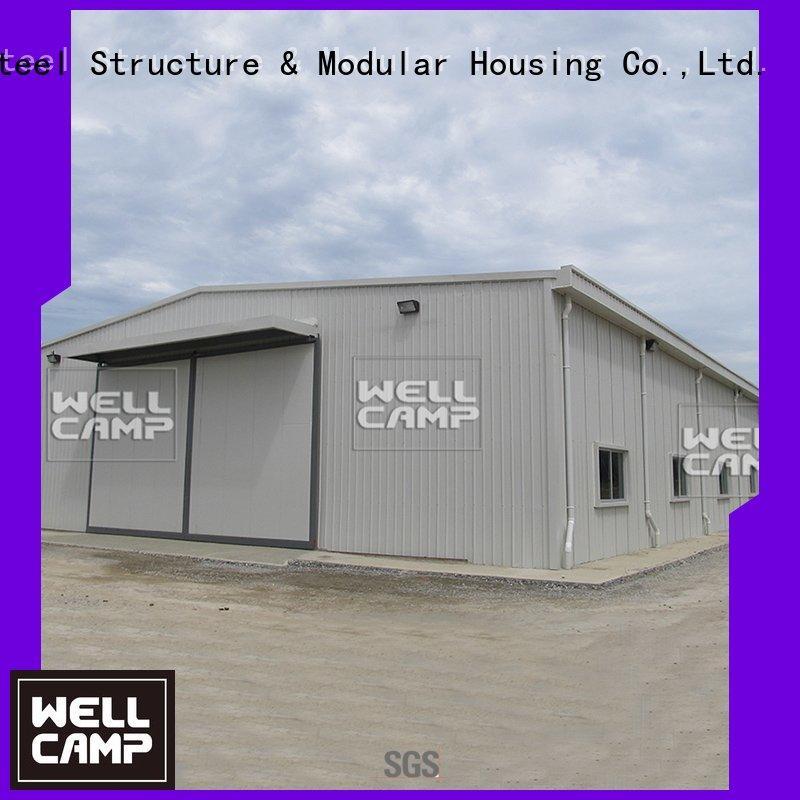 shed cow floor farm steel warehouse WELLCAMP