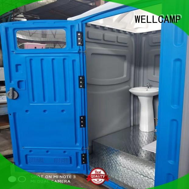 WELLCAMP Brand panel material chemical toilet portable chemical toilet