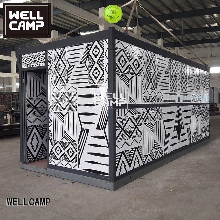 Custom foldable container modern two f05 WELLCAMP