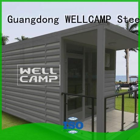 living panel holiday shipping container home builders WELLCAMP