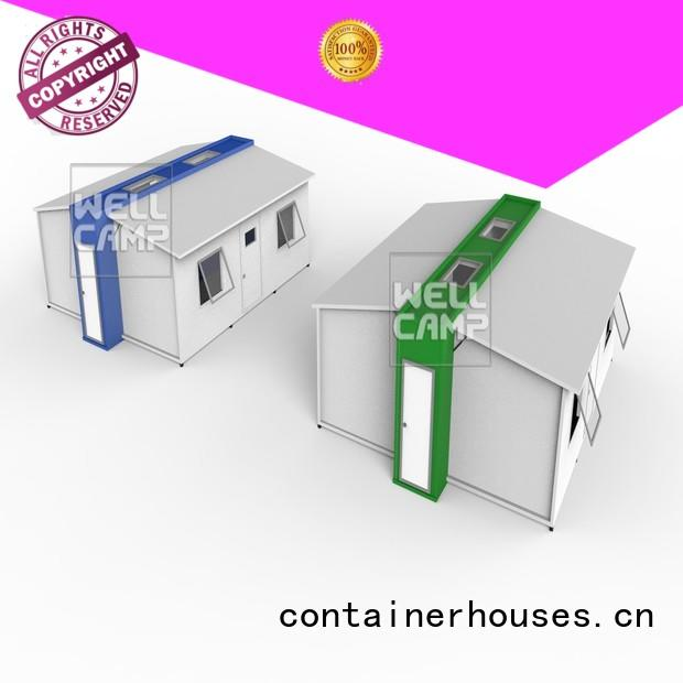system bedrooms expandable shipping container home room modern WELLCAMP Brand