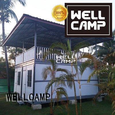custom container homes modern panel container villa WELLCAMP Warranty
