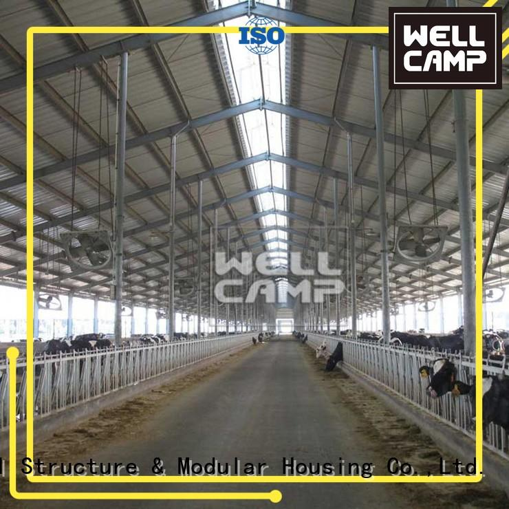WELLCAMP Brand or largespan steel chicken farm