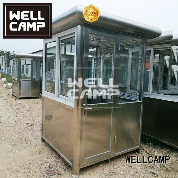 eps sandwich security booth steel WELLCAMP