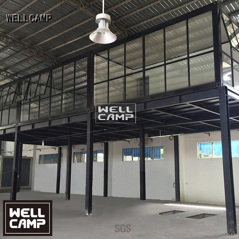 WELLCAMP two modified container house for sale floor fireproof