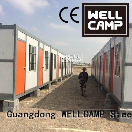 OEM foldable container house camp cost easy foldable container