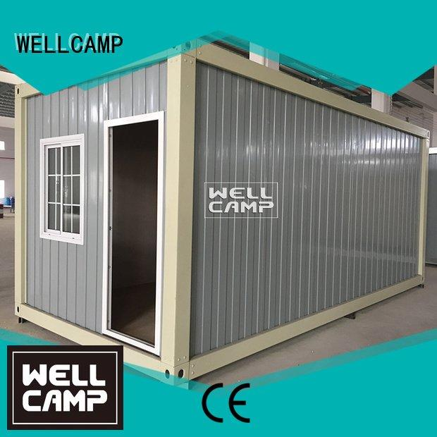 two office prefabricated container house WELLCAMP Brand