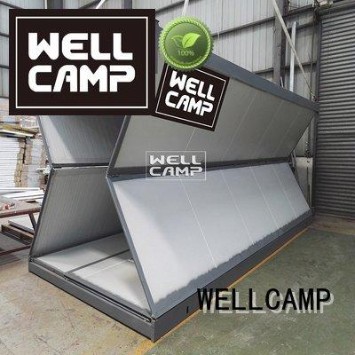 resort prefab cost WELLCAMP foldable container house