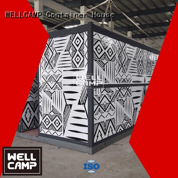 office camp two foldable container house WELLCAMP Brand
