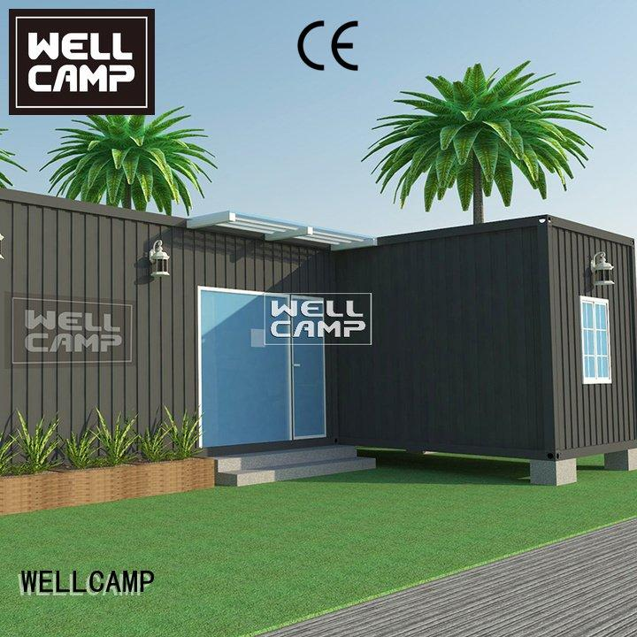custom container homes bedroom levels container villa WELLCAMP Brand