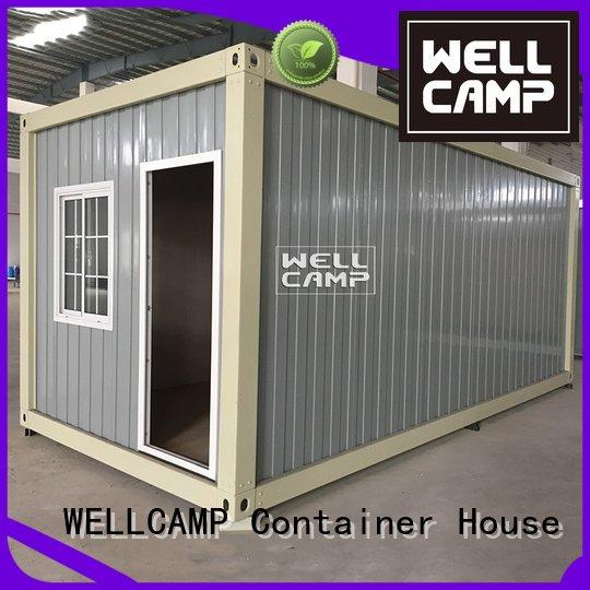 Custom two container house for sale cross prefabricated container house