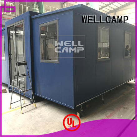 expandable shipping container home house shelter WELLCAMP Brand company