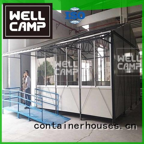 prefabricated classrooms WELLCAMP Brand