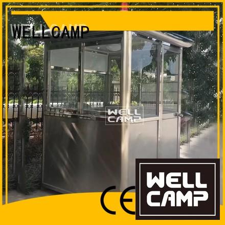 WELLCAMP Brand feet security custom security booth for sale