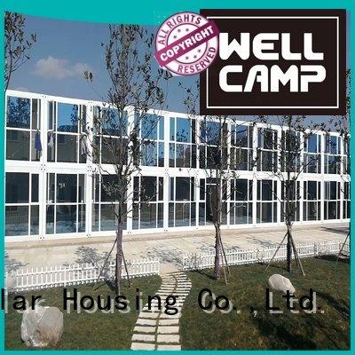 flat pack 20 ft container plat flat pack containers WELLCAMP