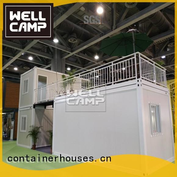 flat pack 20 ft container cladding Bulk Buy prefab WELLCAMP