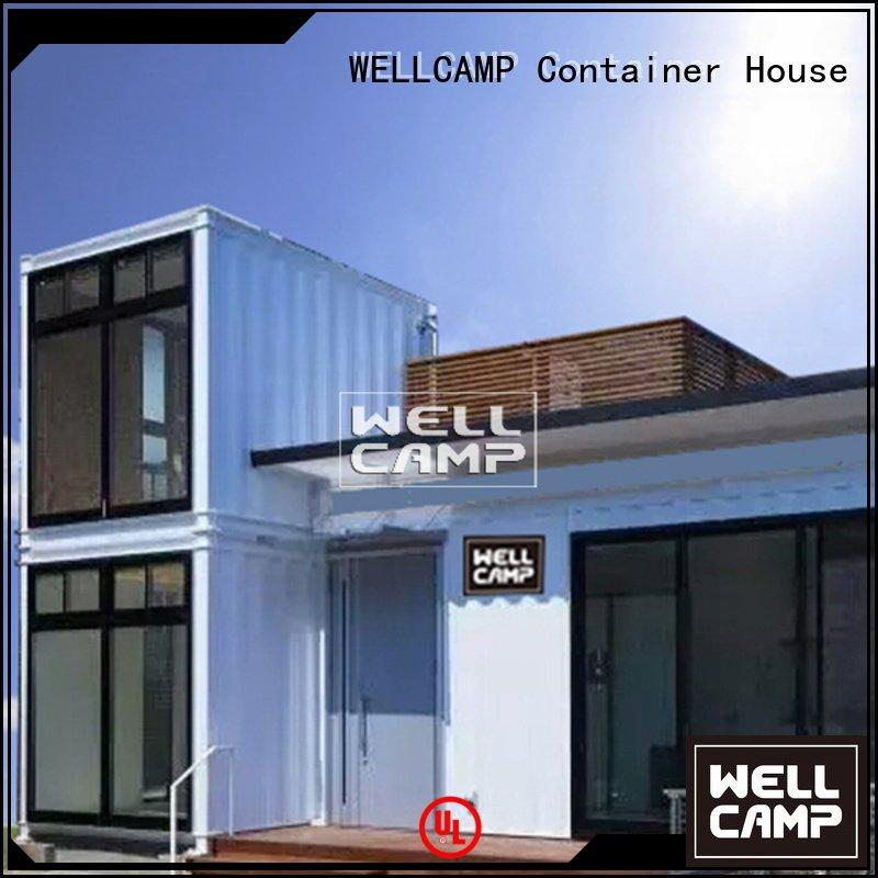 custom container homes hotel fireproof container villa WELLCAMP Brand