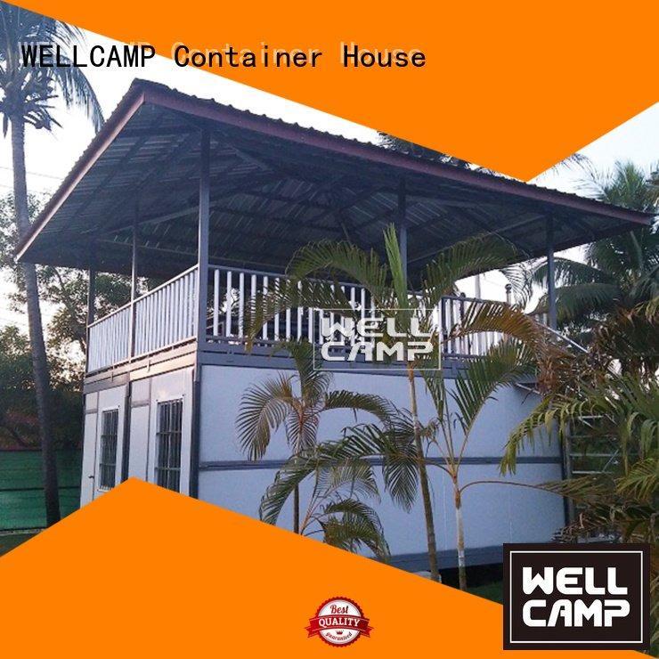 Wholesale bedroom ecofriendly container villa WELLCAMP Brand