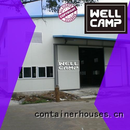 prefab frame two steel warehouse WELLCAMP