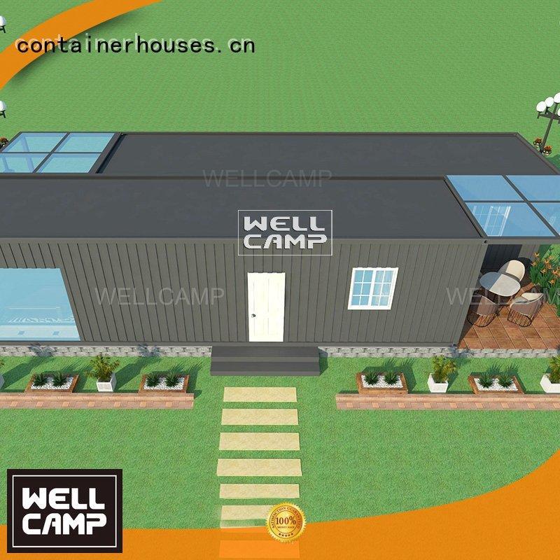 detachable floors fllor custom container homes WELLCAMP Brand