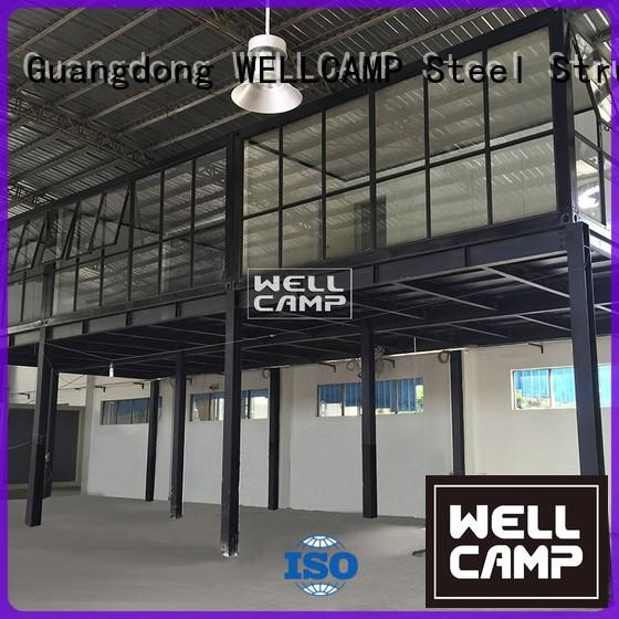 fireproof assembly easy modified WELLCAMP Brand container house for sale supplier