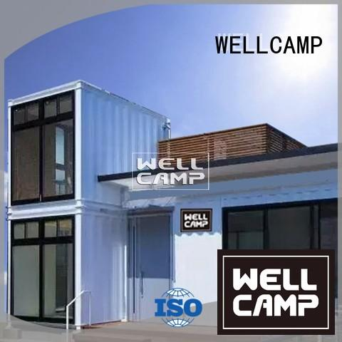 WELLCAMP Brand villa bedrooms custom container homes fixed supplier