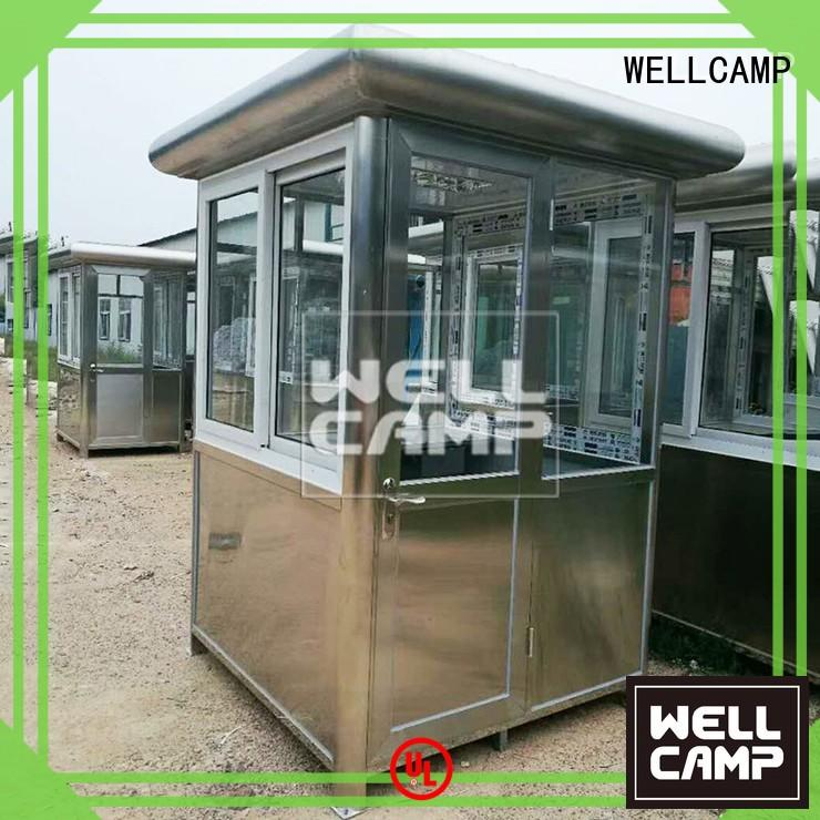 WELLCAMP Brand panel sandwich security booth for sale prefab supplier