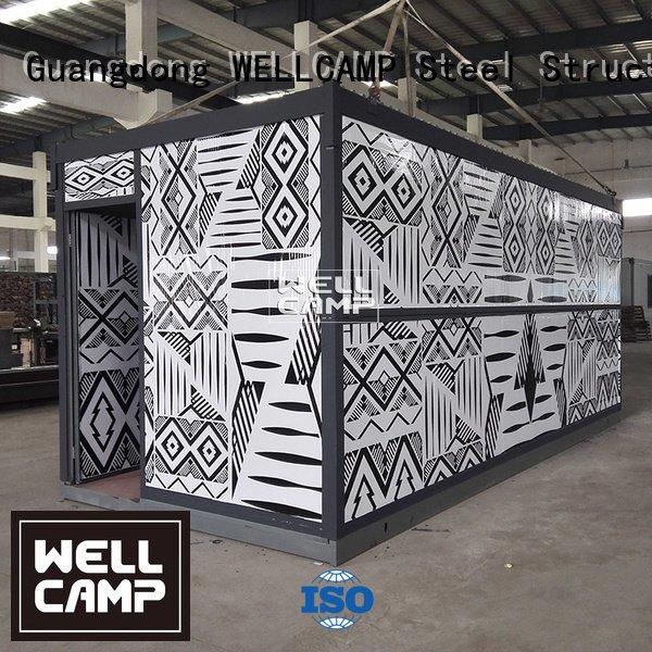 WELLCAMP Brand modern prefab prefabricated foldable container panel