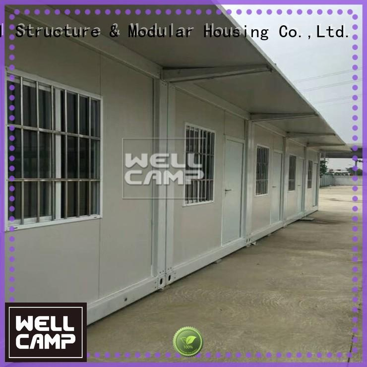 flat pack 20 ft container galss glass flat pack containers tiny WELLCAMP Brand