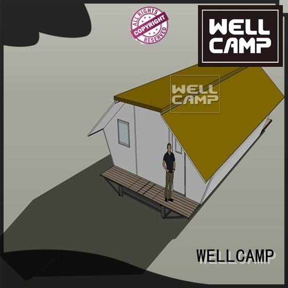 expandable student house shelter WELLCAMP Brand expandable container house supplier