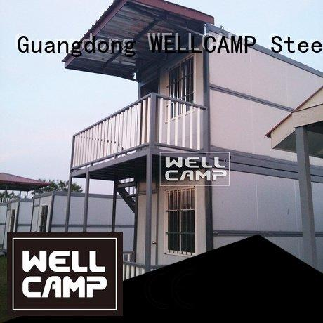 Hot custom container homes folding container detachable WELLCAMP Brand
