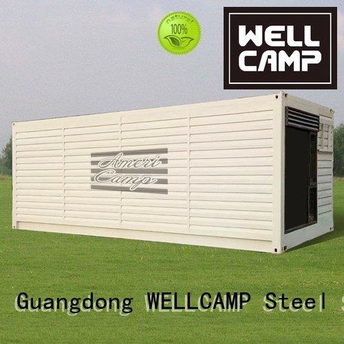 WELLCAMP container shipping container home builders twostorey living