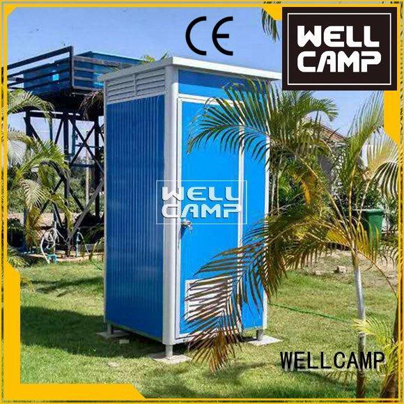 communal plastic portable toilet wooden portable