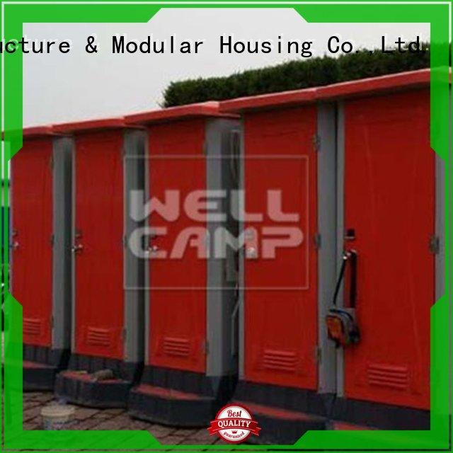 moible facilities portable chemical toilet hdpe WELLCAMP Brand company