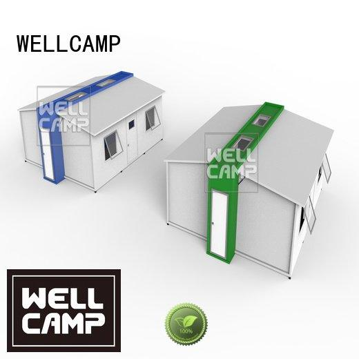 expandable shipping container home family student shelter WELLCAMP