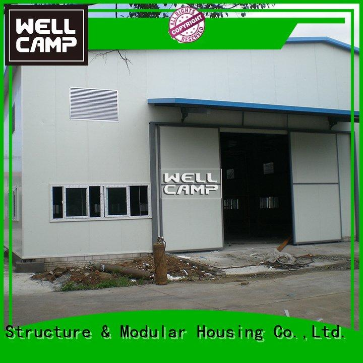 WELLCAMP eps steel warehouse preengineered