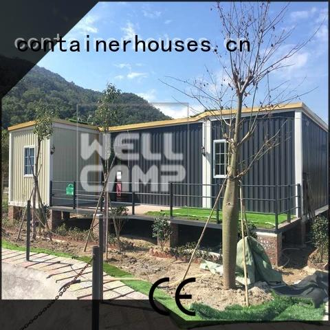 custom container homes fixed design kit WELLCAMP Brand container villa