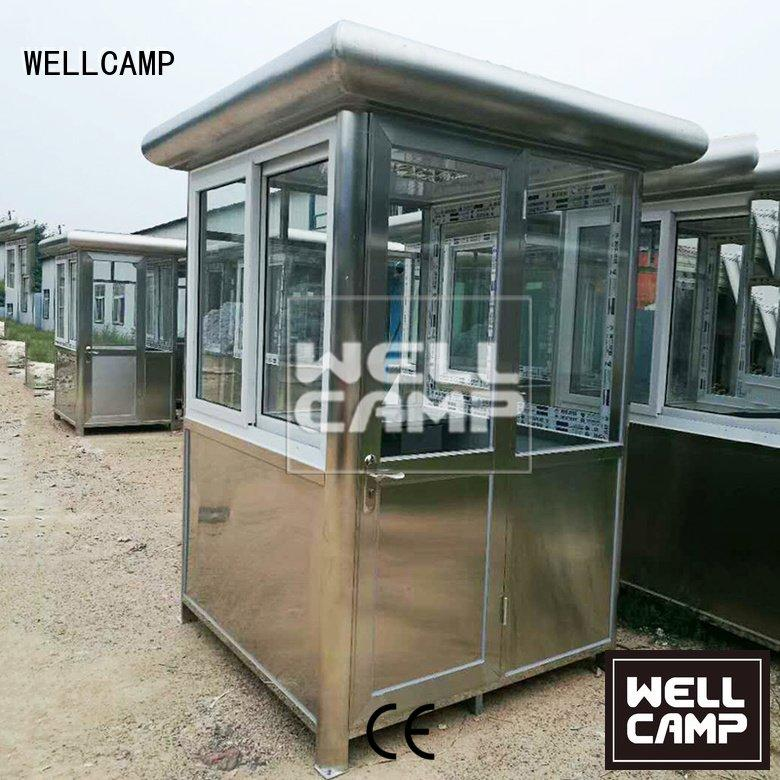 security booth for sale 40ft room OEM security booth WELLCAMP