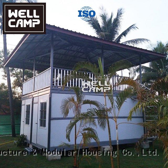 two holiday WELLCAMP container villa