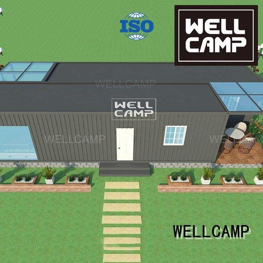 Quality custom container homes WELLCAMP Brand one container villa