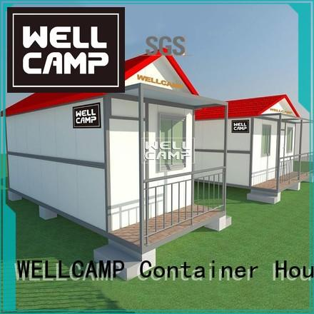 WELLCAMP Brand detachable one container living container villa