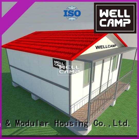 WELLCAMP Brand design floors panel container villa manufacture